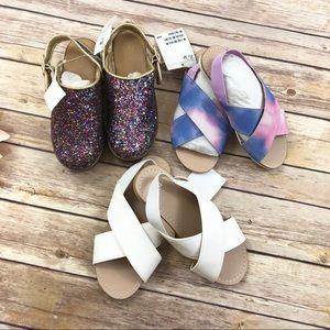 GAP H&M NWT Summer Shoe Bundle